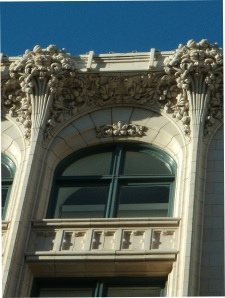 250 Sutter organic ornament and cornice