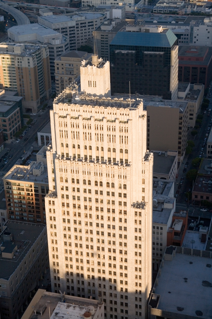 Telephone Building aerial view