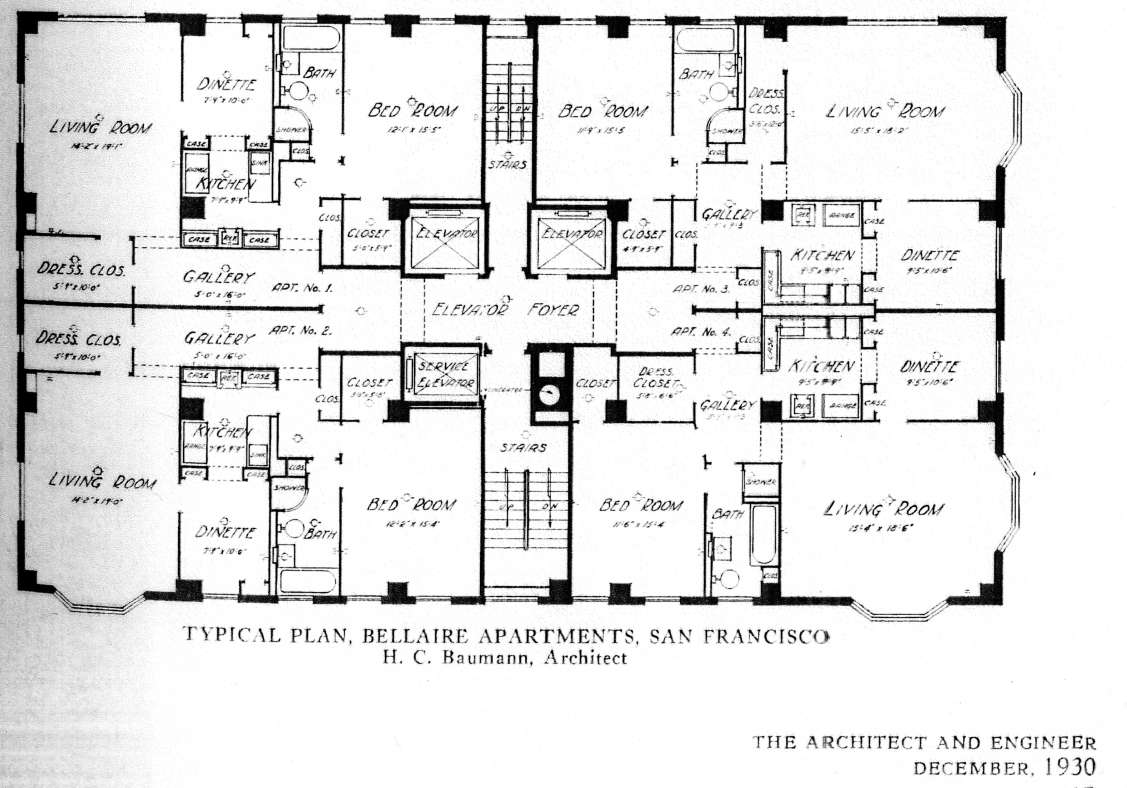 Alcatraz Floor Plan