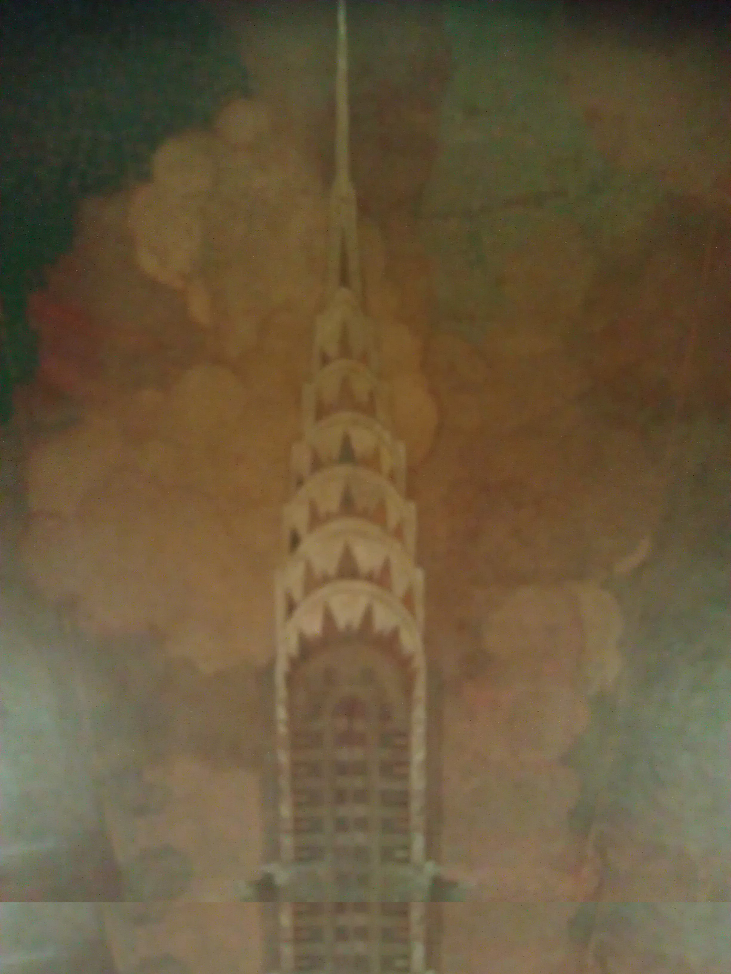 Skyscrapers timothy pflueger blog for Chrysler building wall mural
