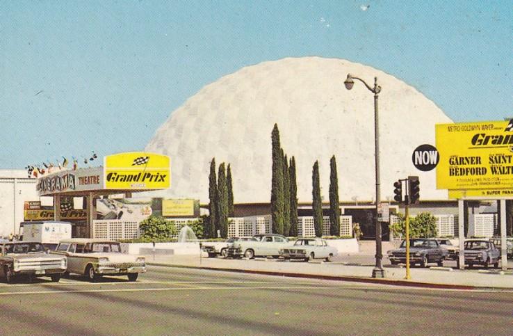 Postcard of Cinerama Hollywood, circa 1960s