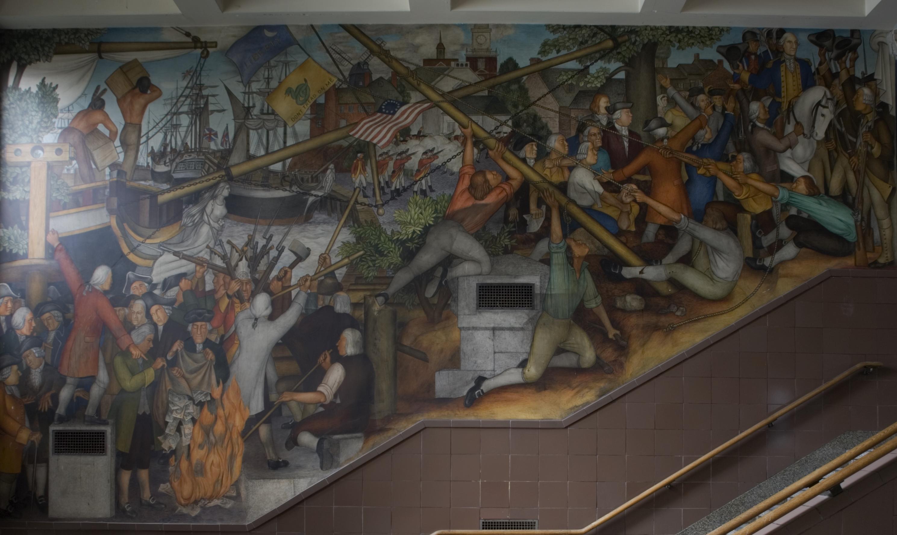Arnautoff GWHS Revolution Boston Massacre